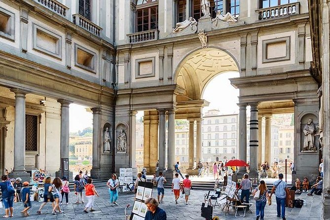 Uffizi Exclusive : Small-Group Guided Tour with Priority Entrance photo 1