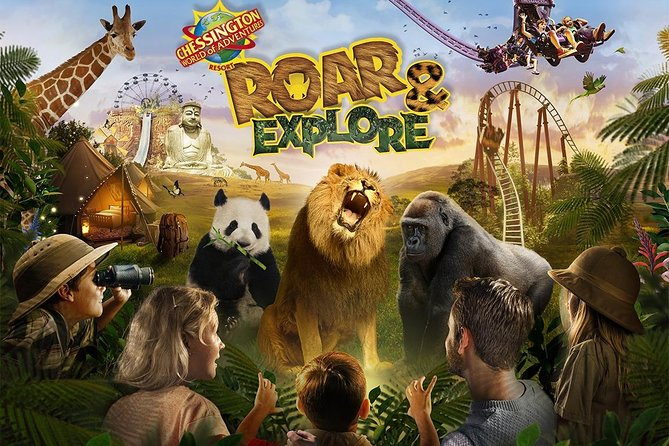 Chessington World of Adventures Independent Full Day Private Tour