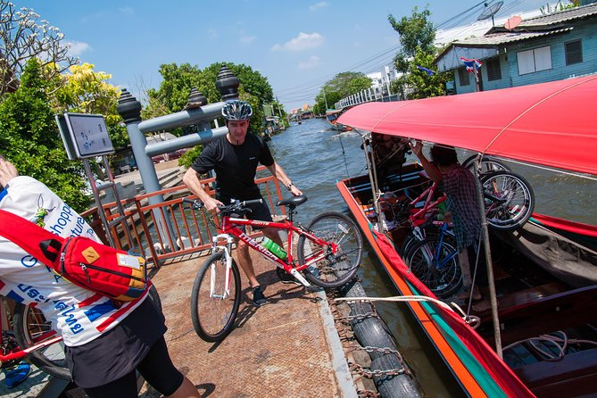 Bike Tour & Chao Phraya Canal Boat Ride (including Lunch)