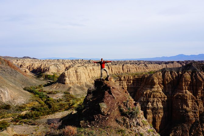 Explore unique Charyn Canyon + Moon and Black canyons with the local guide 1 day photo 2