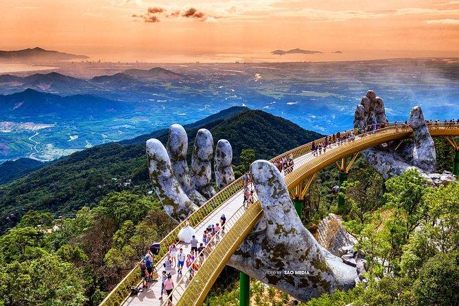 Transfer to Golden Bridge from Da Nang city