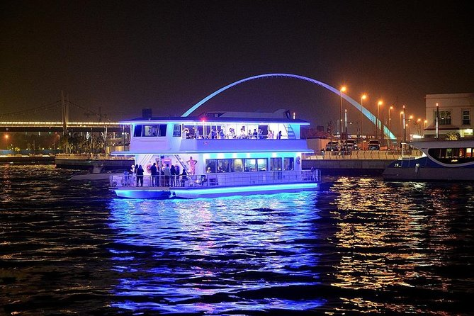 Dubai Water Canal Cruise With Dinner & Transfer