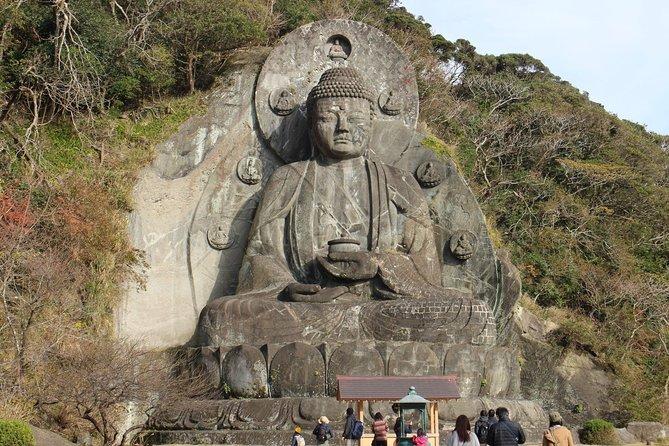 One day Hike, Thrilling Mt. Nokogiri & Giant Buddha
