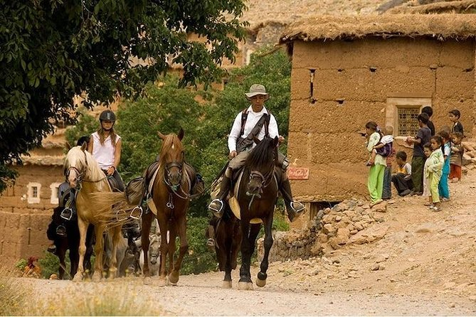 2-Days Horseback riding in the Atlas Mountains in Marrakech