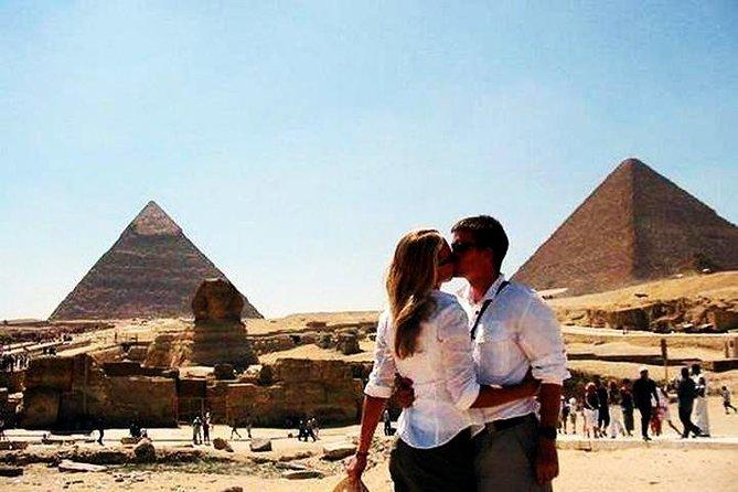 Combo Tour to the Pyramids of Giza, Sakkara, Dahshur, and Memphis from Cairo