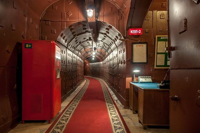 Private tour to the Cold War Museum 'Bunker 42'