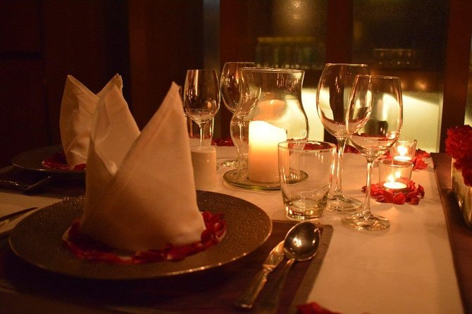 Instagram Photoshoot With Romantic Dinner Date - Private Dining at Roseate