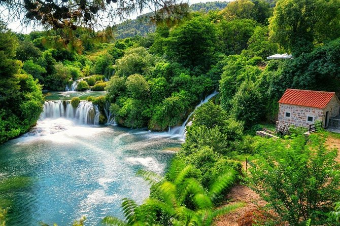 Krka Waterfalls with Gastro Experience Private Tour from Split
