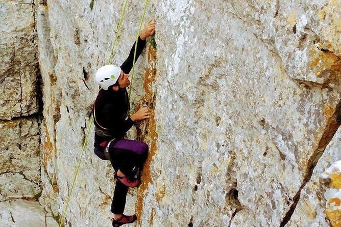 Rock Climbing & Abseiling in Vouni