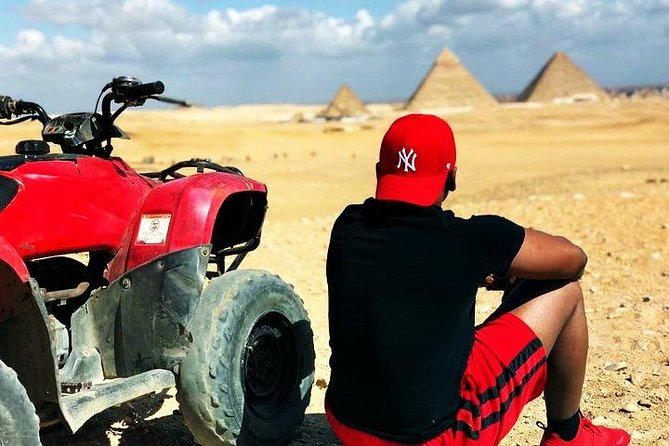 Guided Tour to Giza Pyramids with 90 Minute Quad Bike