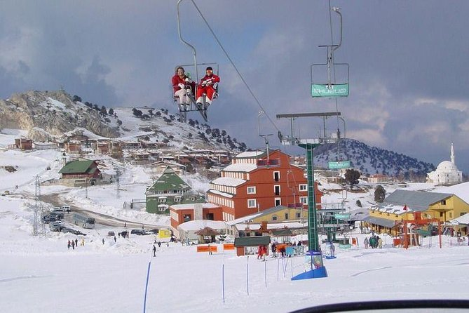 Saklikent ski resort from Antalya photo 4