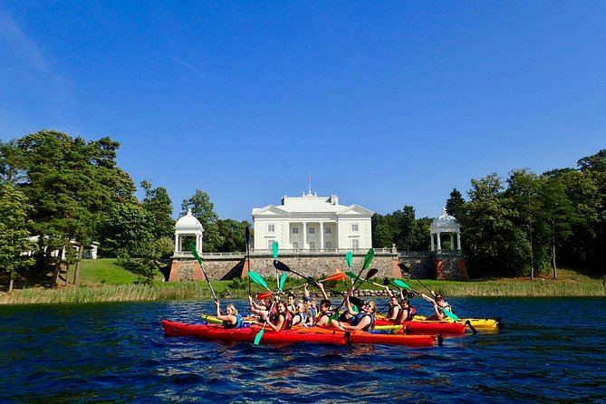 Half-Day Scenic Kayak Tour in Trakai
