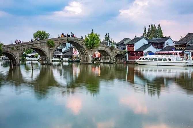 Zhujiajiao Water Town Self-Guided Tour with Private Transfer from Shanghai
