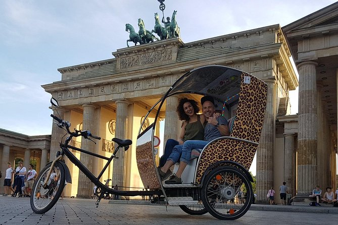 Berlin Rickshaw Tours Historical & Photo City Tour 120min.