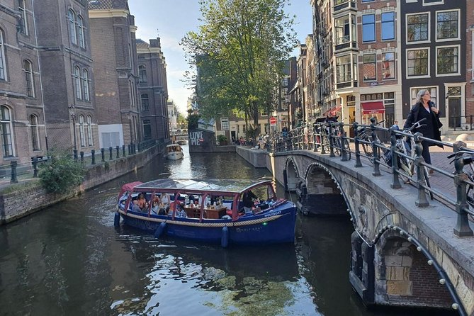 Turkish Guided and Fun Amsterdam Boat Trip