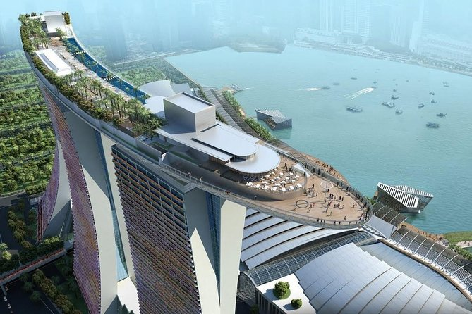 Ocean Views with Marina Bay Sands Sky Park (observation deck admission ticket)