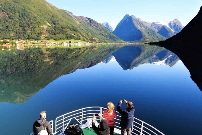 Guided Fjord & Glacier Tour - From BERGEN