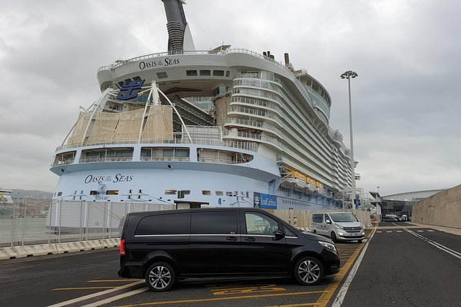 Private transfer to/from Civitavecchia port 129 euro/van Mercedes