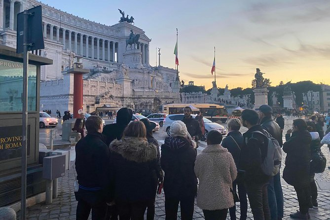 Golden Rome Walking Tour & Coffee