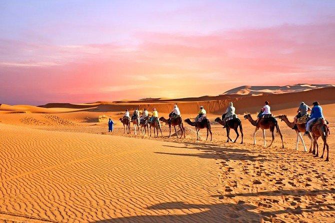 MERZOUGA & ZAGORA small Group 4 Days Tour from Marrakech.
