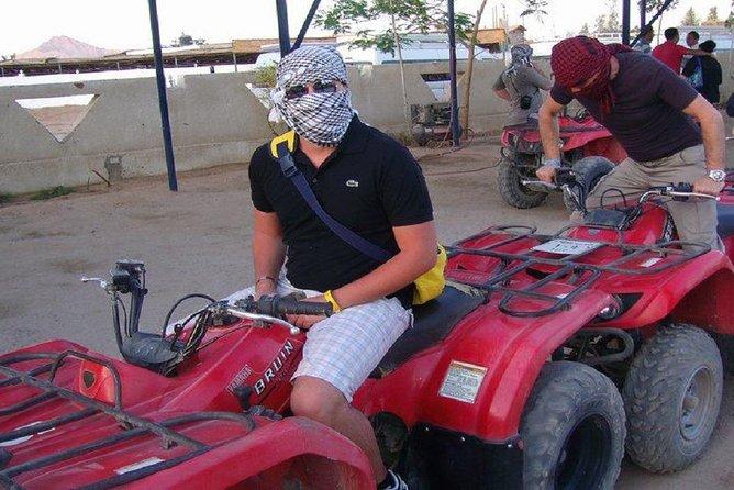 Safari Quad bike ride in hurghada