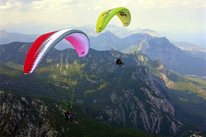 Paragliding on Tahtali mountain from Antalya