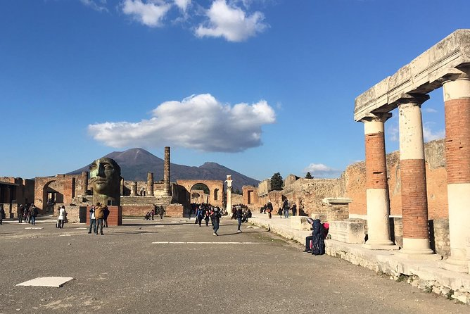 Uncrowded Pompeii with Archaeologist