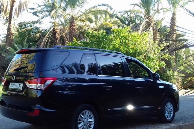 Transfer from Marrakech airport to the whole city
