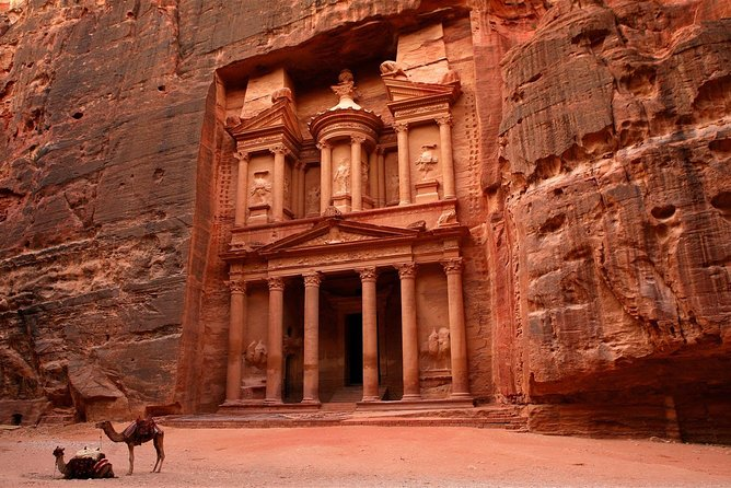 day tour to visit petra & wadi rum 2 hour jeep tour
