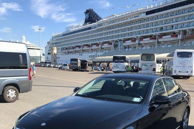 Transfer from Rome to the port of Civitavecchia