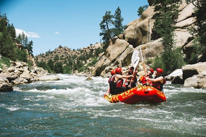 Half Day Browns Canyon Rafting Adventure