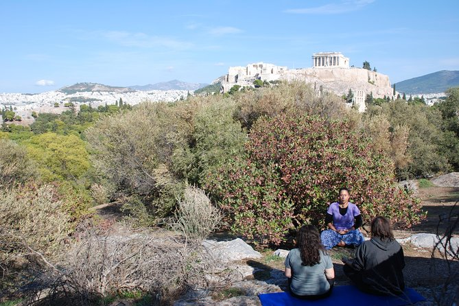 Ancient Greek Meditation & Theta Healing intro at the sacred hill of Acropolis