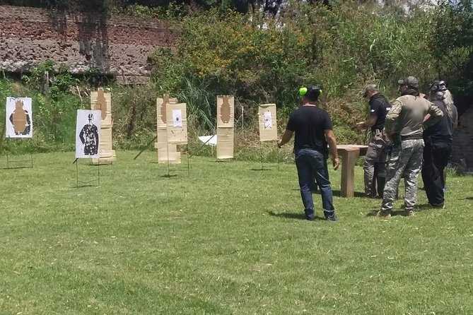 Shooting classes with short and long weapons.