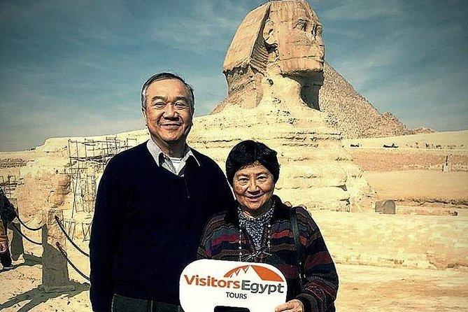 Giza Pyramids & Sphinx Day Tour