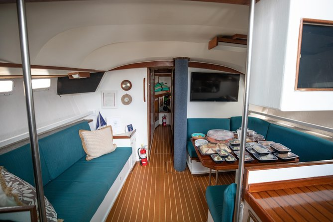 3 hour private sailboat charter For up to 25 people