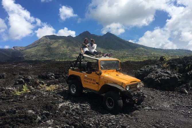 Mount Batur Sunset & Black Lava Exploration By 4WD Jeep