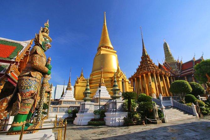 Wonderful Bangkok Tour - Wat Phra Kaew, Wat Trimit, Wat Pho & Wat Benchamabophit
