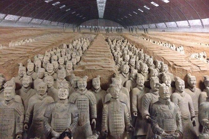 Xi'an in One Day from Guangzhou by Air: Terracotta Warriors, City Wall and More