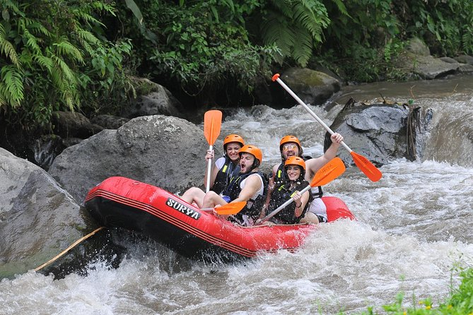 Bali Ayung River Rafting With Surya Bintang Adventure