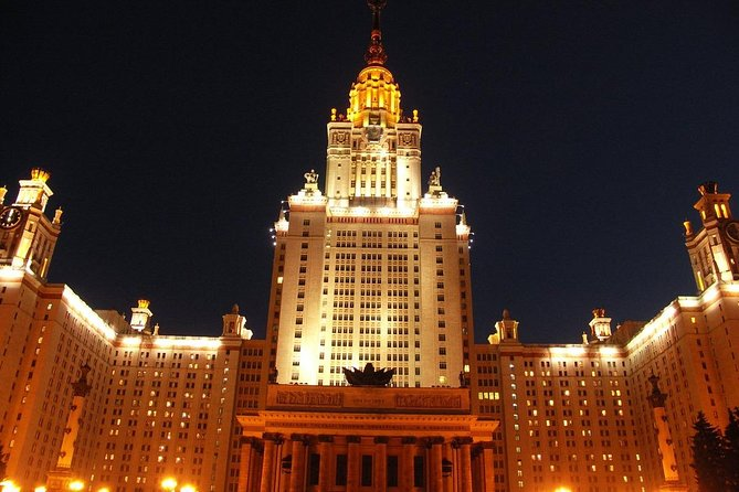 Panoramic Private Tour of Evening Moscow in a Soviet minivan photo 3