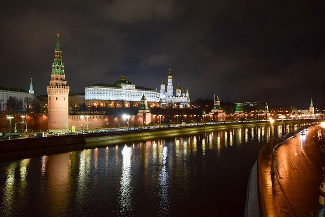Panoramic Private Tour of Evening Moscow in a Soviet minivan photo 7