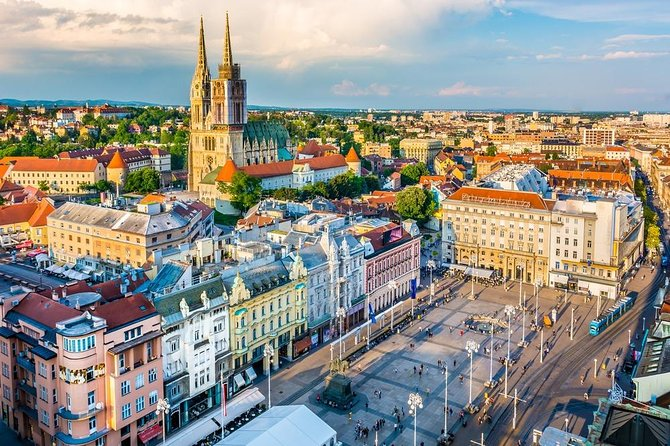 Private Zagreb Walking Tour and Wine Tasting From Zagreb