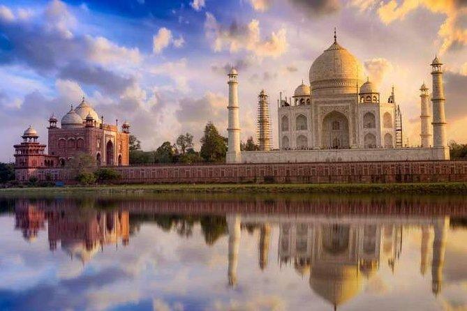 All Inclusive: Golden Triangle Tour 2 Nights 3 Days{Taj Mahal at sunrise}