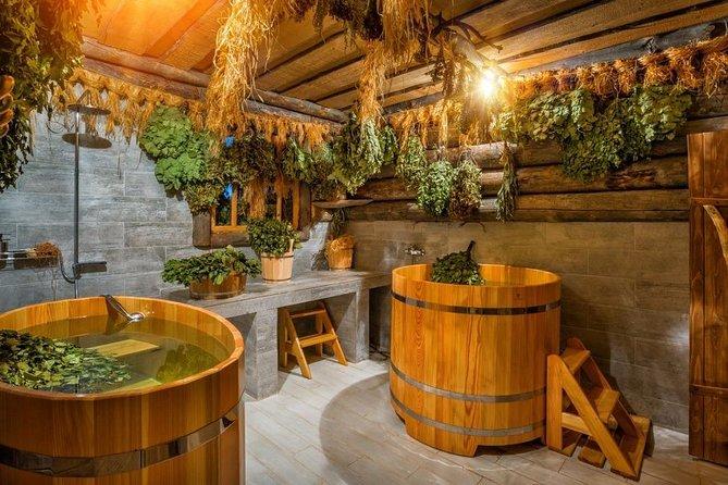 Unique siberian health-improving bath experience