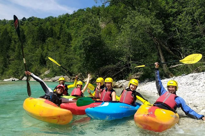 Soca River Kayaking Trip for Experienced from Bovec
