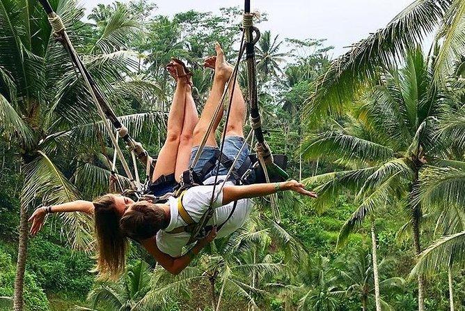 Ubud Jungle Swing, Temple & Waterfall