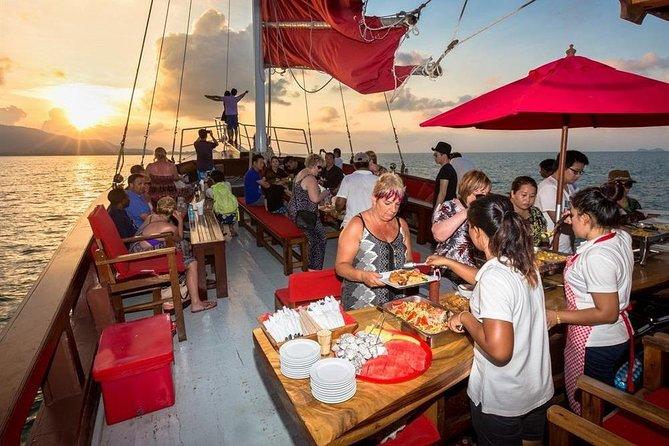 Sunset Dinner cruise, Phang Nga Bay, Romantic tour