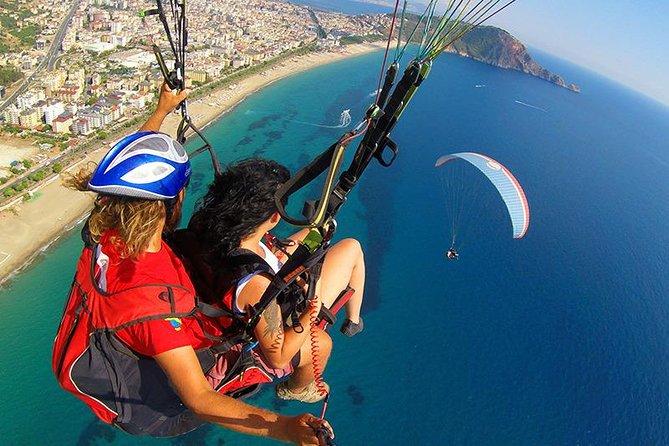 Paragliding in Alanya from Antalya region