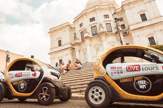 Lisbon Hidden: Self-Drive Private Tour in E-Cars