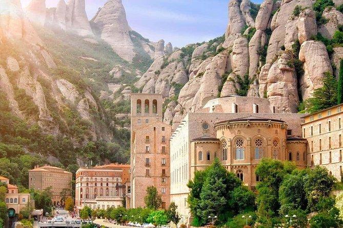 Barcelona City Tour & Montserrat Hiking with Monastery.